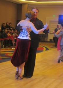Rusty & Jo at competition
