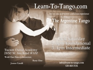 New Tango Classes at Tucson Dance Academy